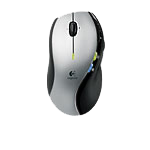 MX™610 Left-Hand Laser Cordless Mouse