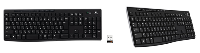 Logicool Wireless Keyboard K270
