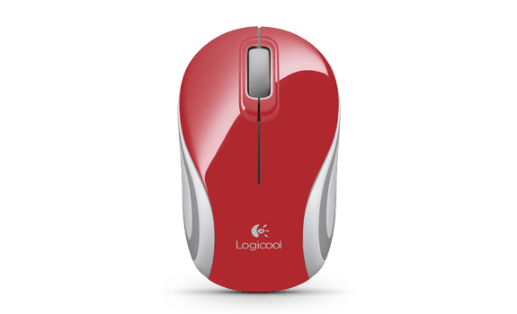 Wireless Mini Mouse M187 Red Gallery LC 11