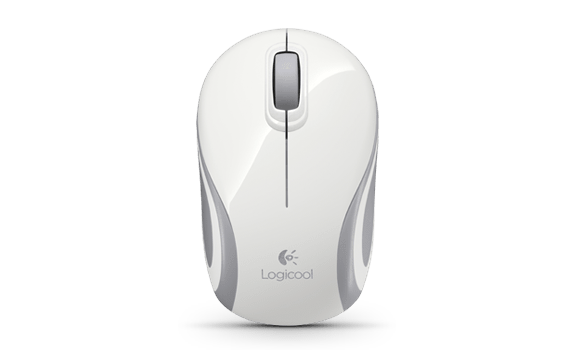 Wireless Mini Mouse M187 White Gallery LC 14