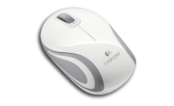 Wireless Mini Mouse M187 White Gallery LC 16