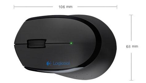 Logitech MK345 Wireless Keyboard /& Mouse Combo