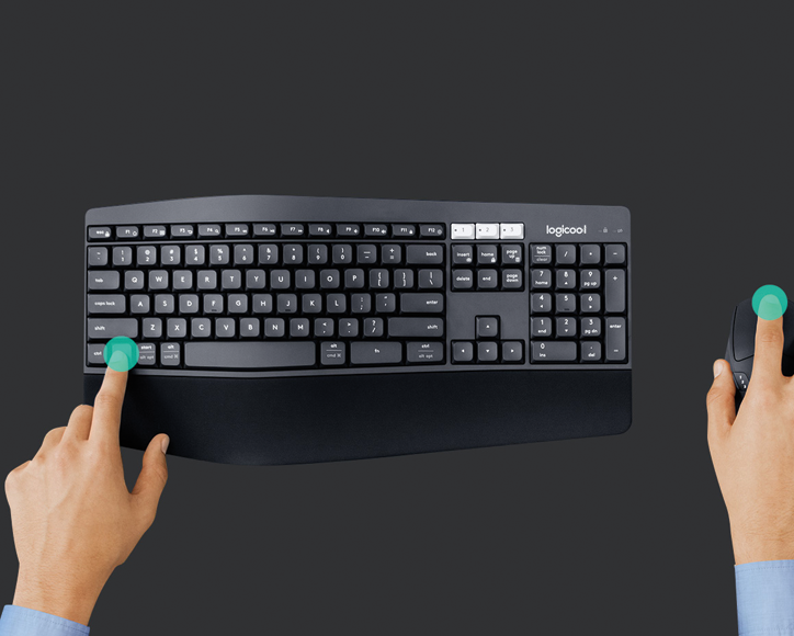 DuoLink makes your mouse and keyboard the perfect combo